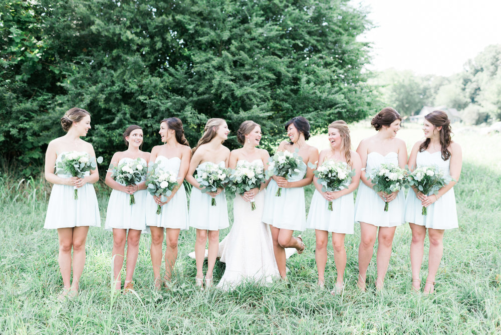 bridesmaids deep south farm ellijay north georgia atlanta wedding photographer