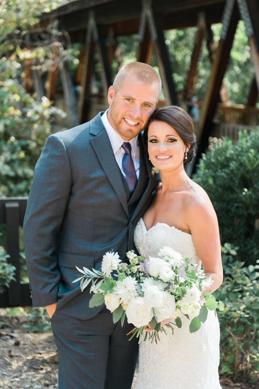 bride and groom roswell mill ivy hall atlanta wedding photographer