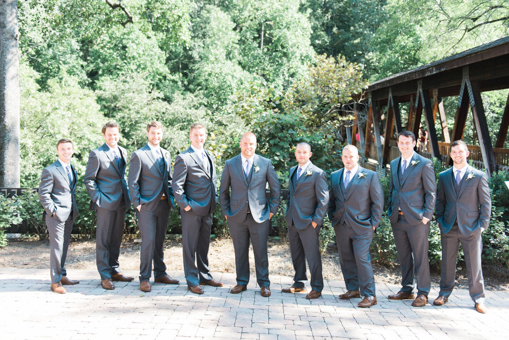 roswell mill groomsmen ivy hall atlanta wedding photographer