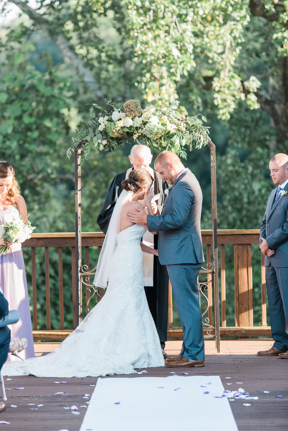 ceremony ivy hall atlanta wedding photographer
