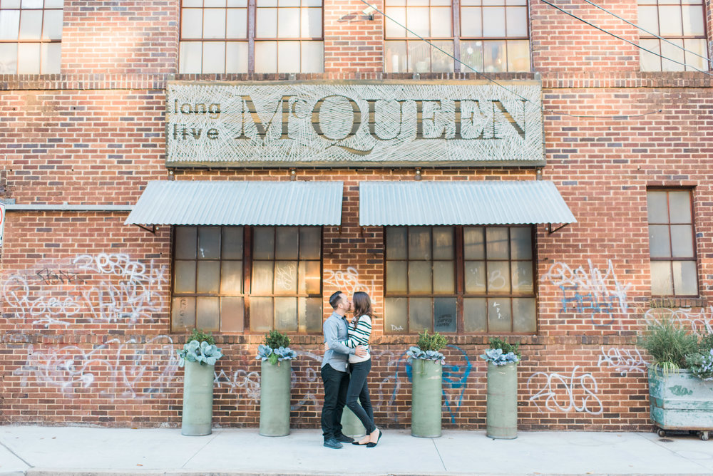 inman park atlanta engagement photographer
