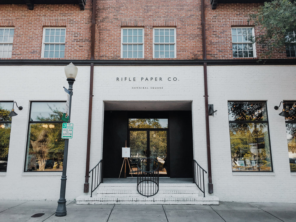 rifle paper co flagship store winter park florida travel photographer