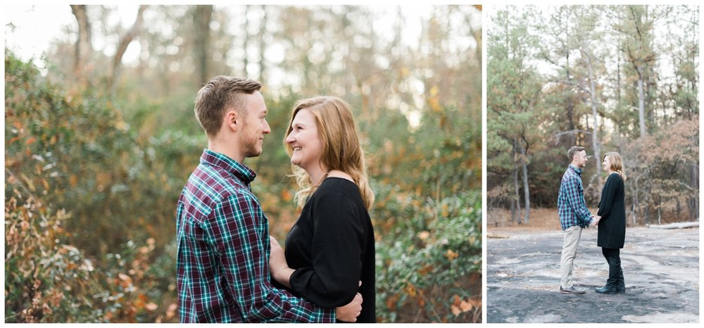 arabia mountain engagement atlanta wedding photographer