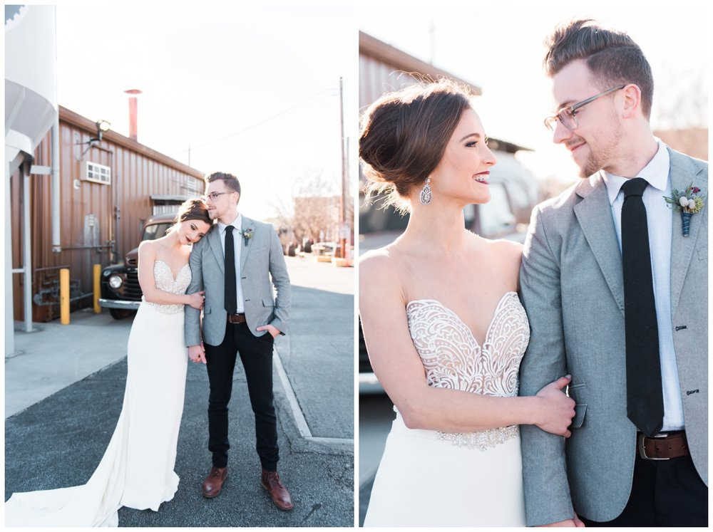 three taverns brewery wedding photographer