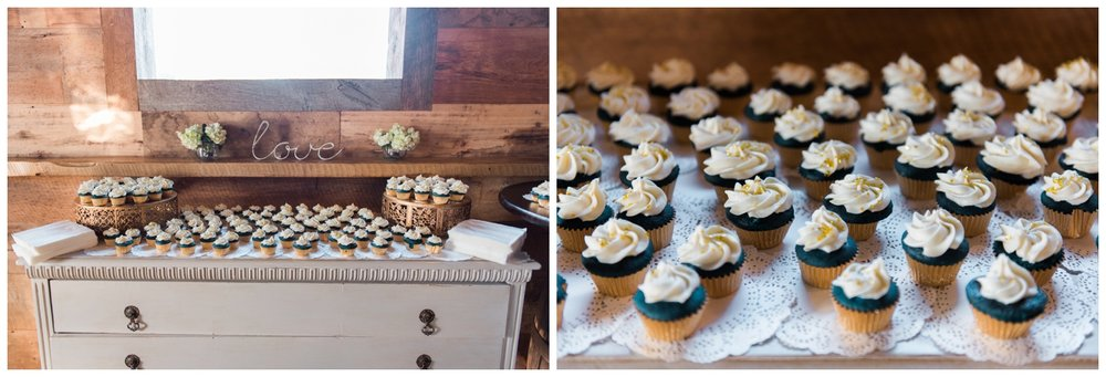 LIC big fake wedding cupcakes atlanta wedding photographer
