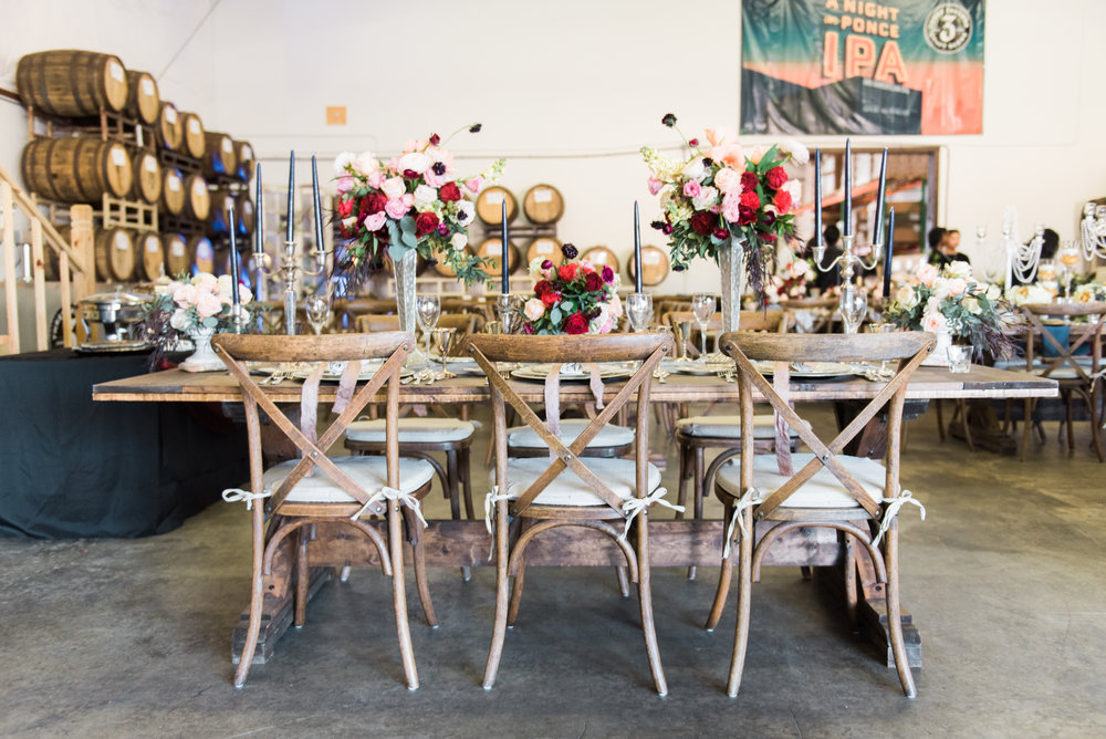 big fake wedding atlanta kara nash designs three taverns
