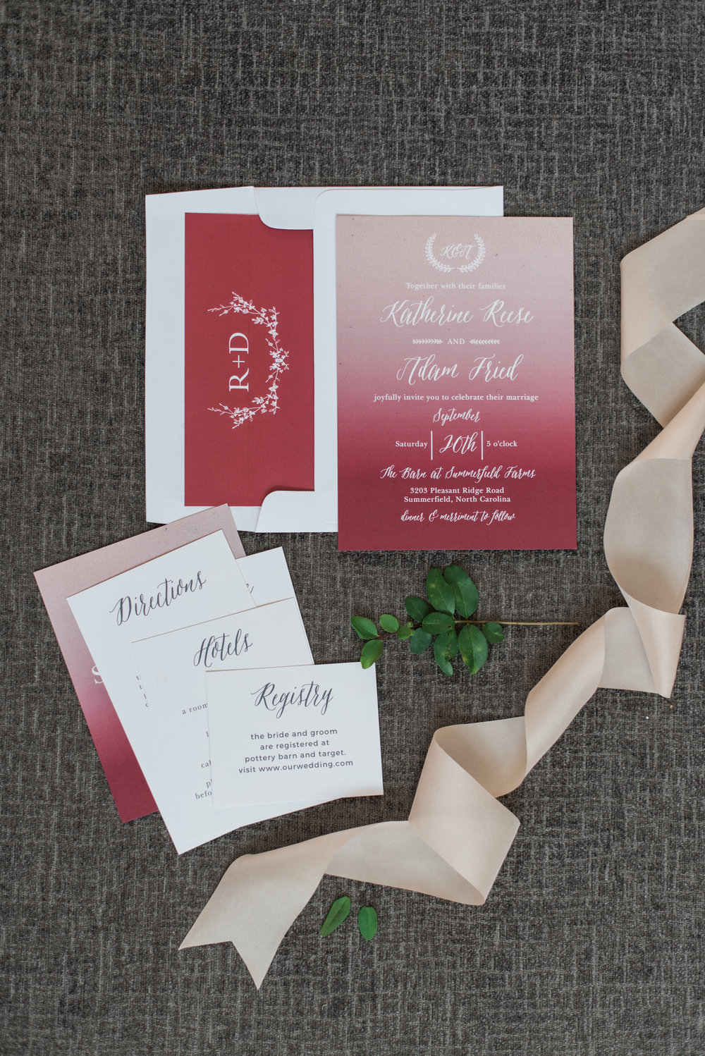Creative Conversations Basic Invite Wedding Stationery Holly