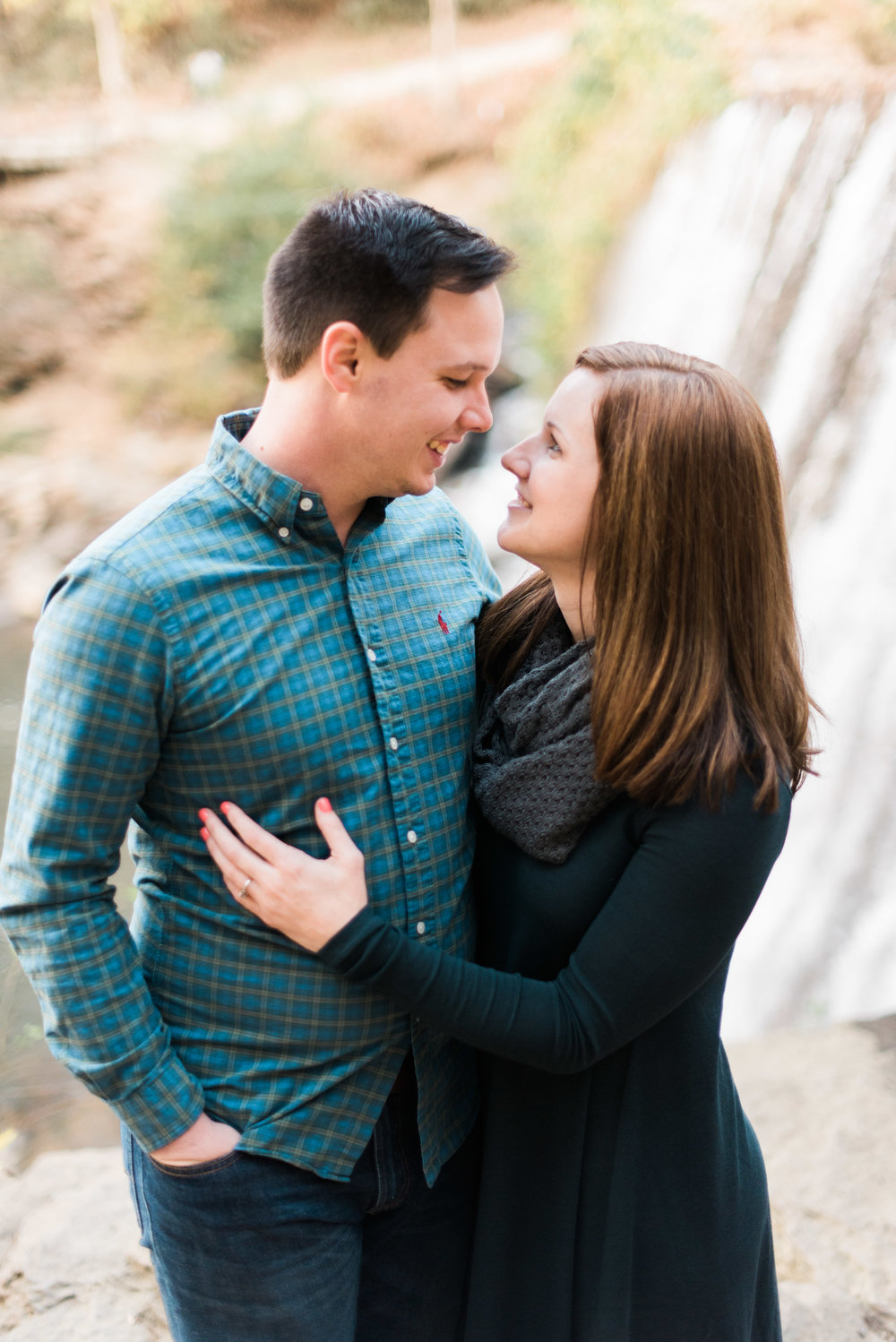 roswell mill engagement session wedding photographer