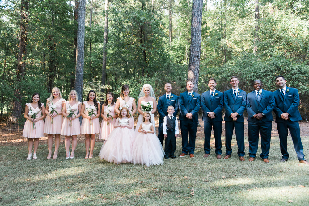 atlanta wedding photographer bridal party