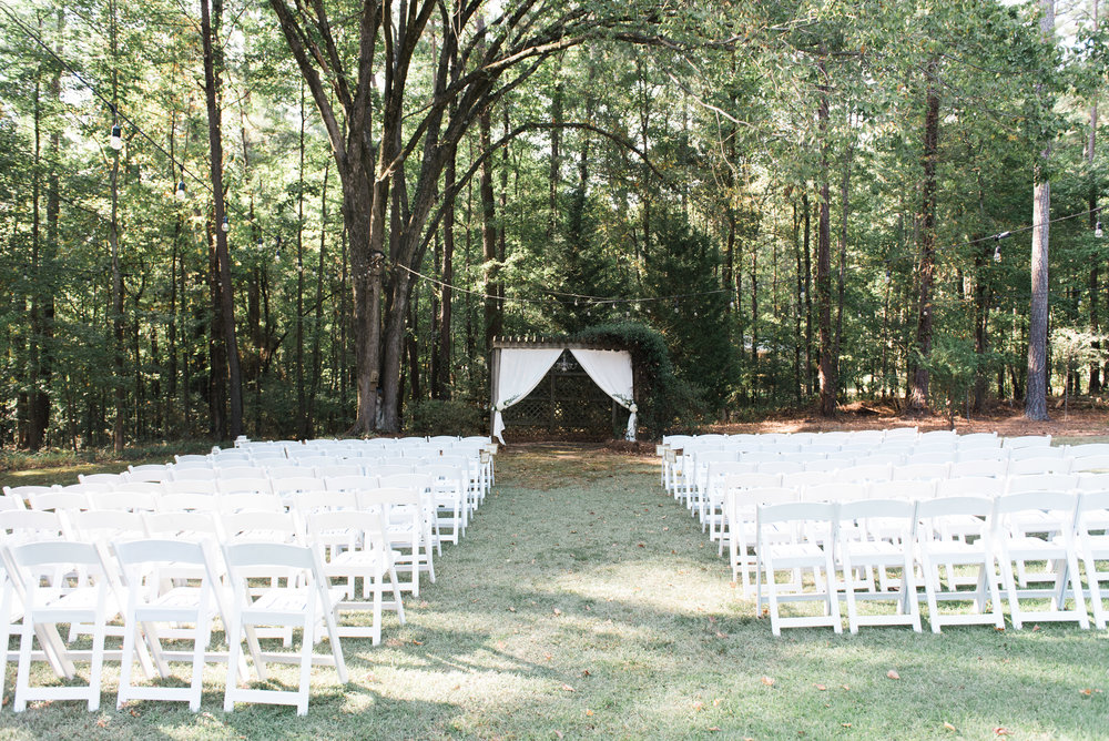 atlanta wedding photographer ceremony space