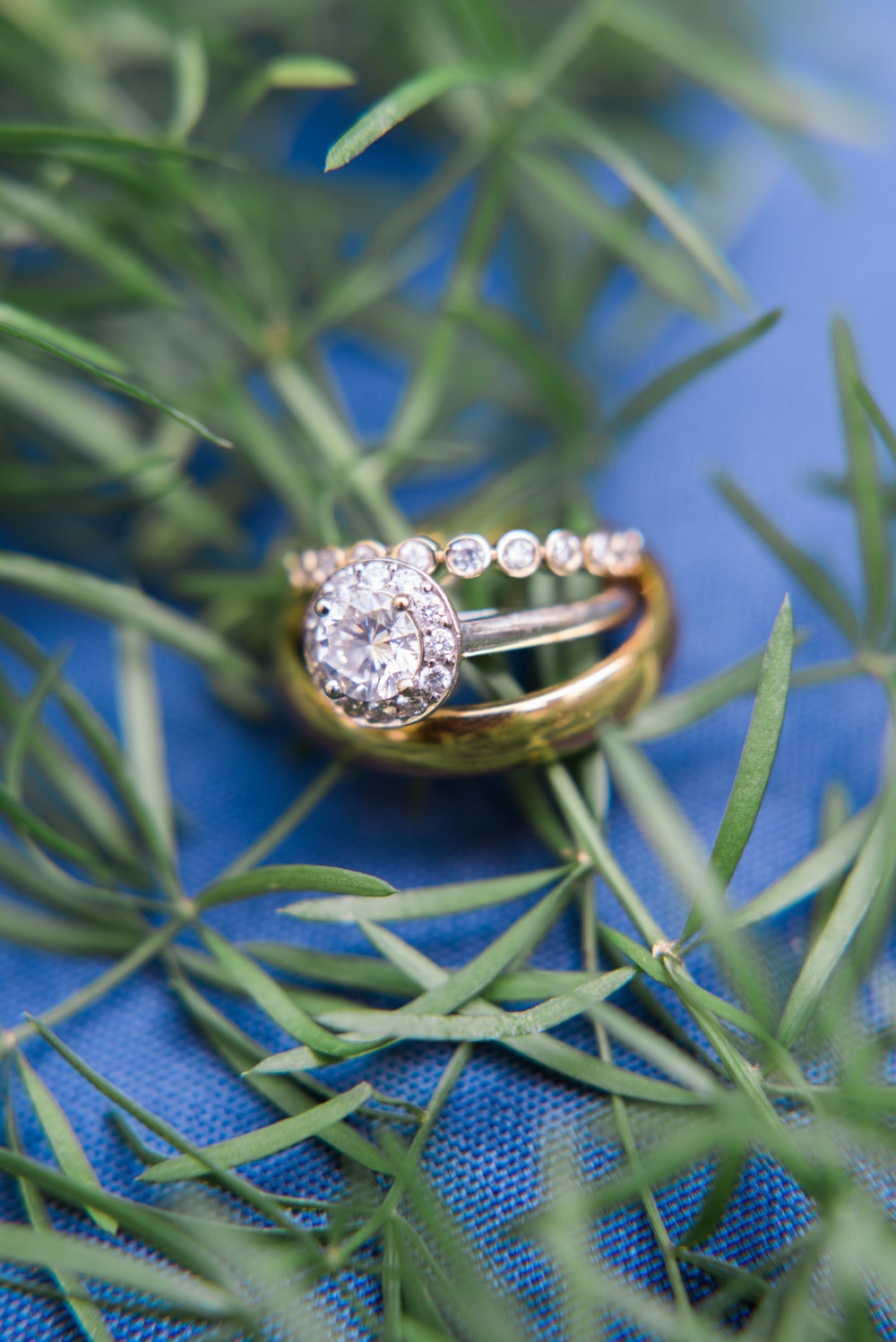 atlanta wedding photographer rings