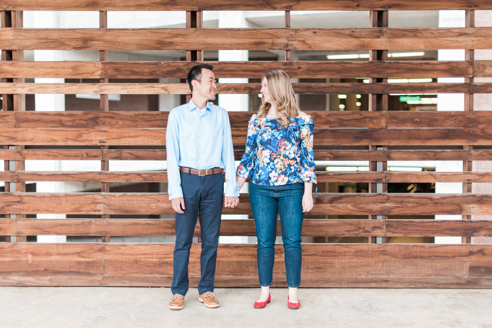 ponce city market engagement session
