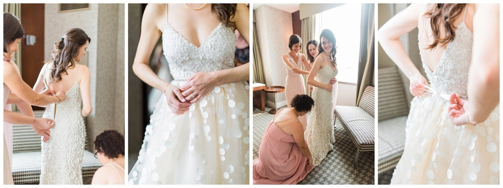 getting ready atlanta wedding photographer