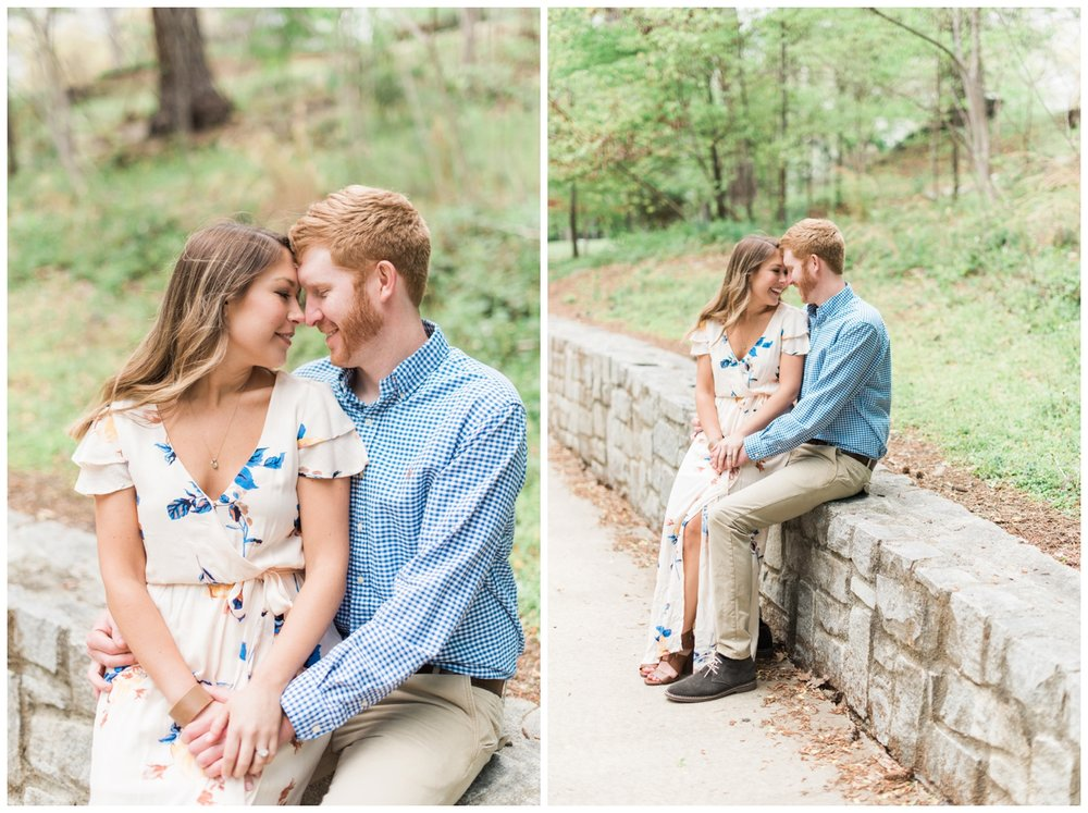 tanyard creek atlanta engagement session