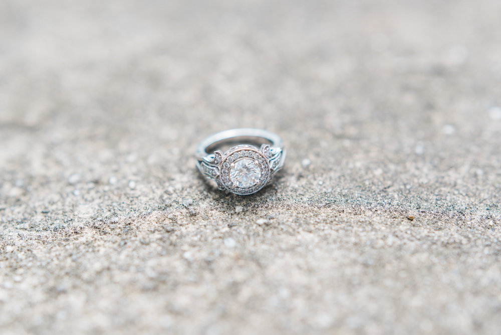 engagement ring atlanta wedding photographer