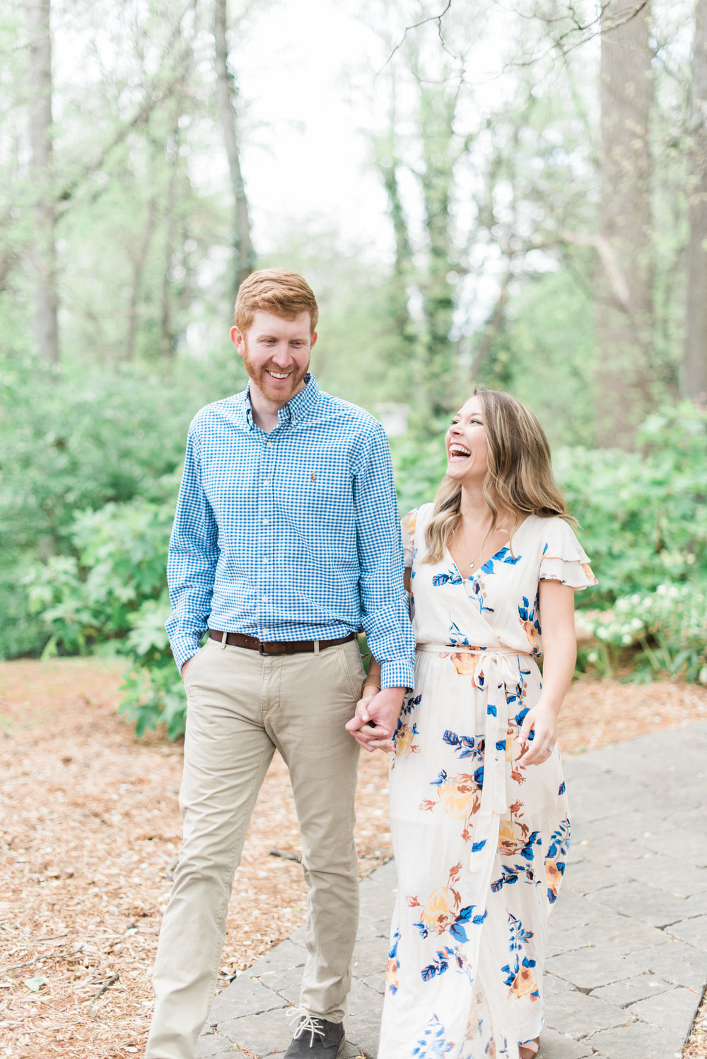 beltline trail west atlanta engagement session