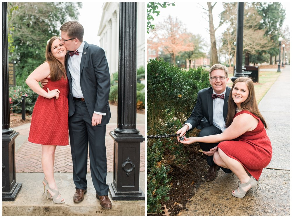 athens uga engagement session
