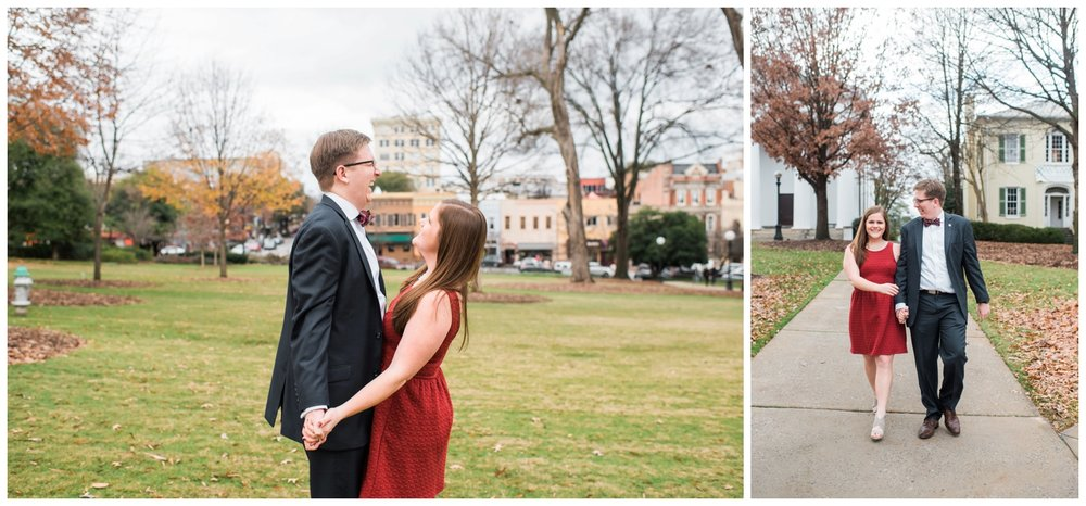 athens georgia engagement session