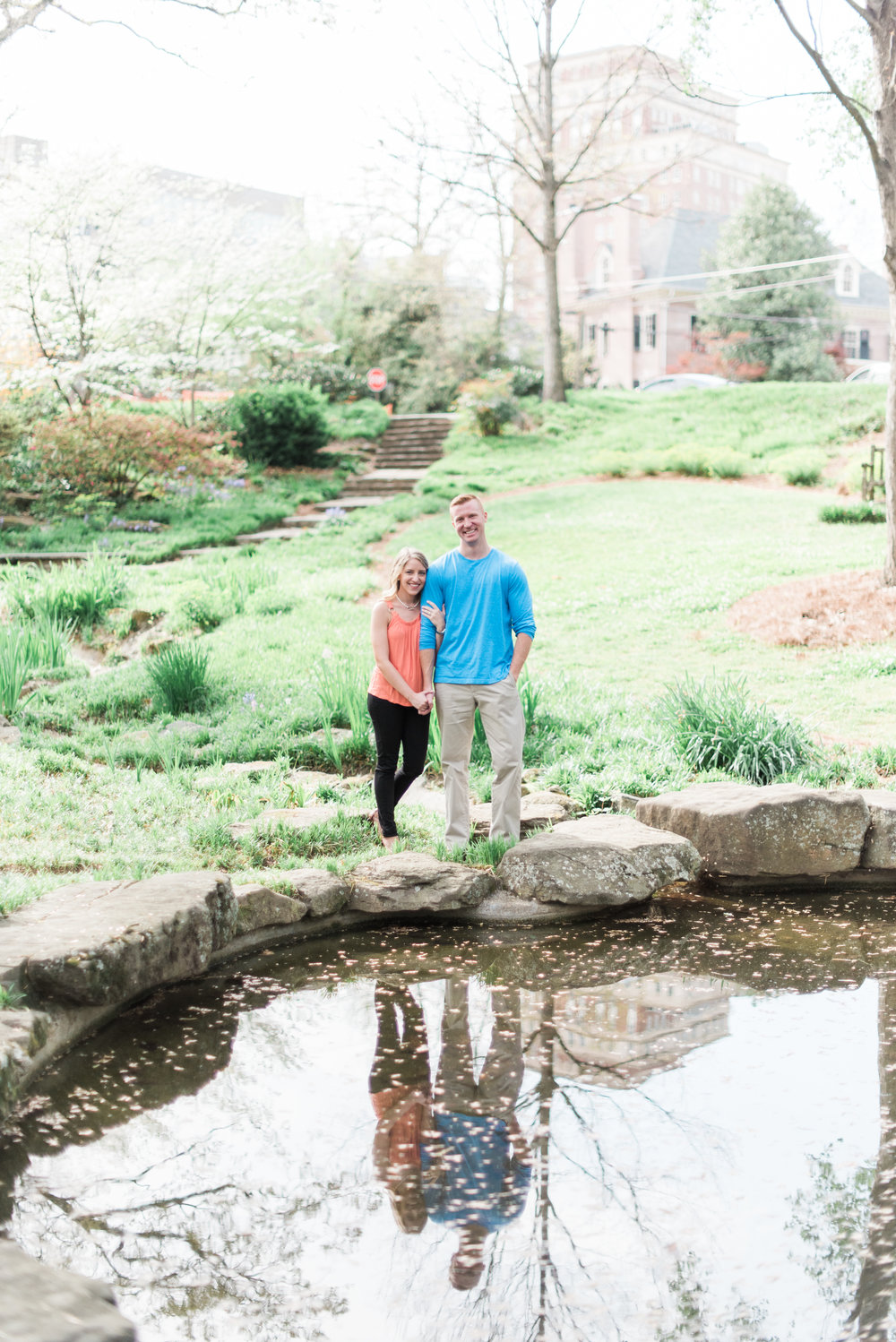 atlanta engagement photographer winn park