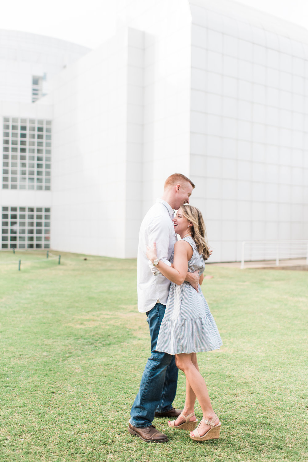 atlanta engagement session the high museum