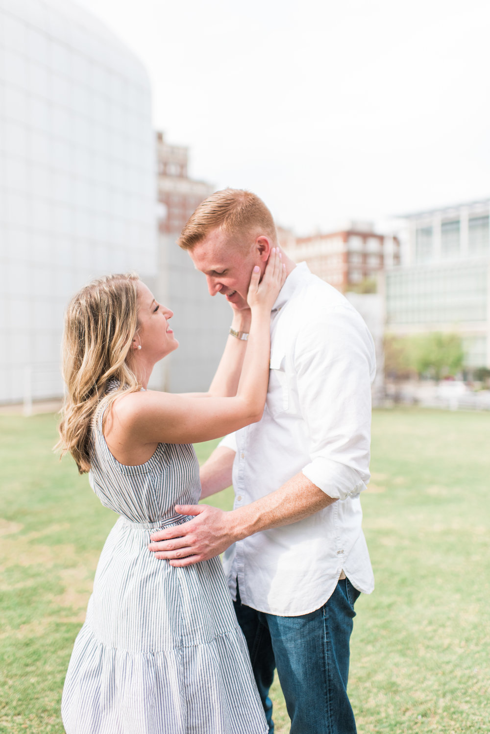 atlanta engagement session high museum of art