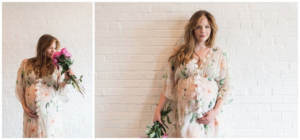 atlanta maternity session anthropologie