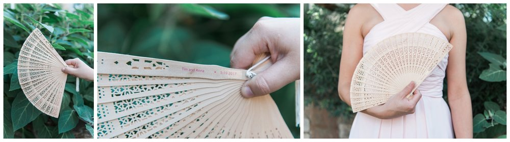 fan atlanta botanical garden wedding
