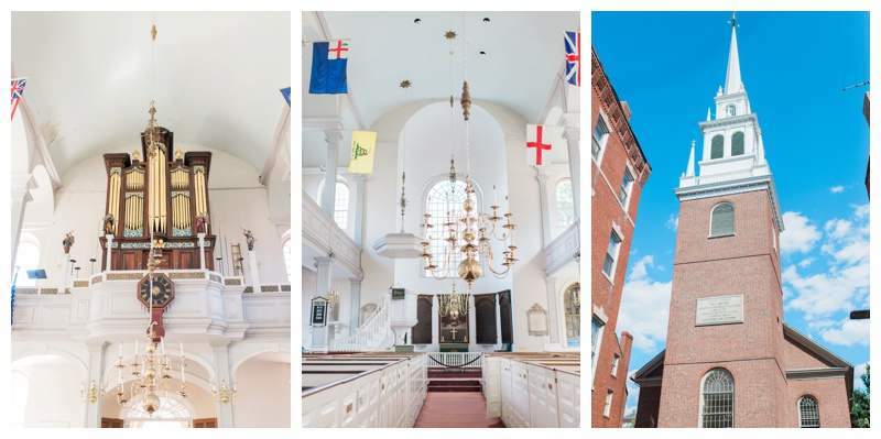 "The Old North Church - ""one if by land, two if by sea"""