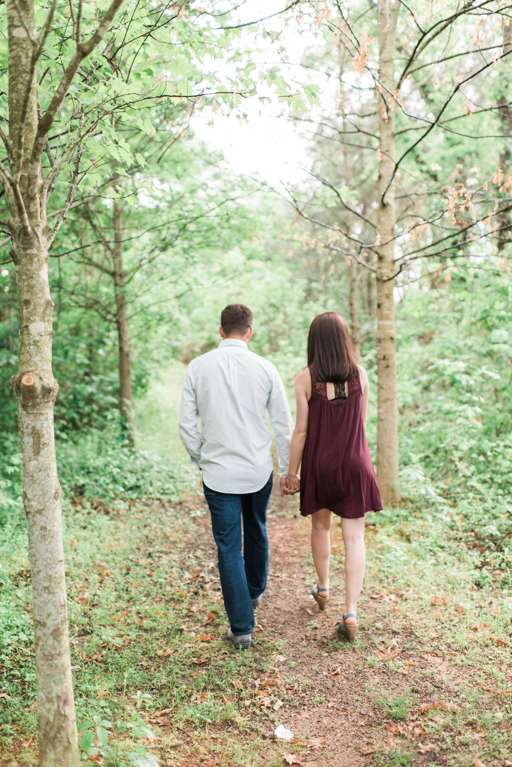 atlanta engagement session whittier mill