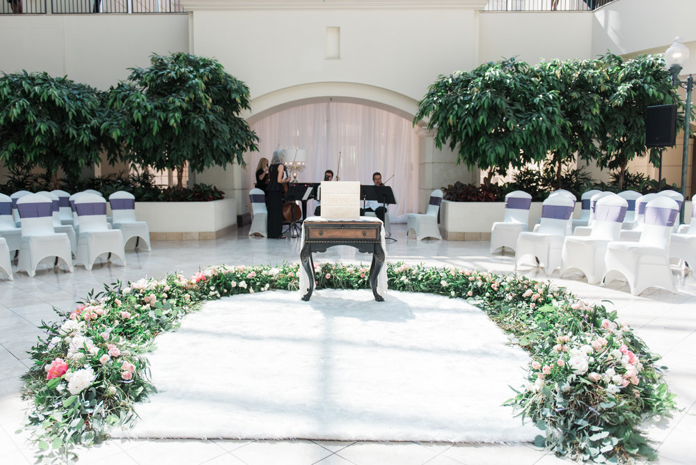 chateau elan wedding ceremony