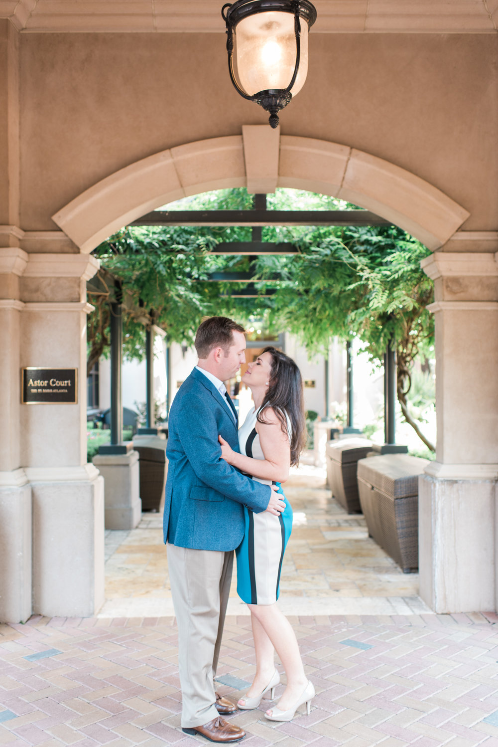 St Regis Atlanta Engagement Session
