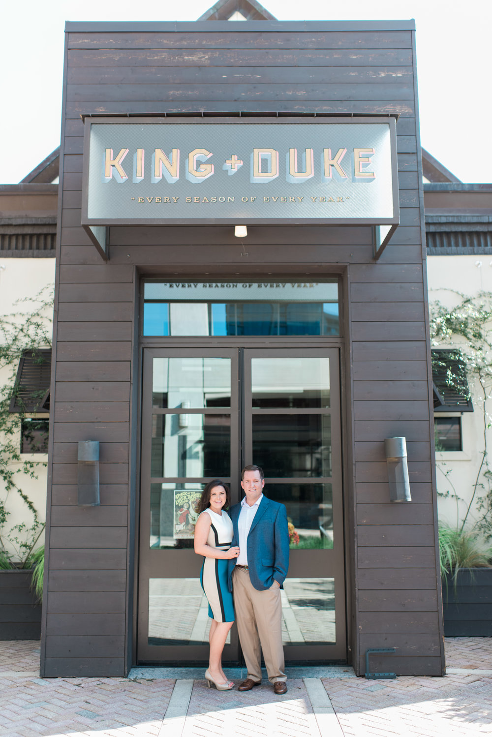 king and duke atlanta engagement session