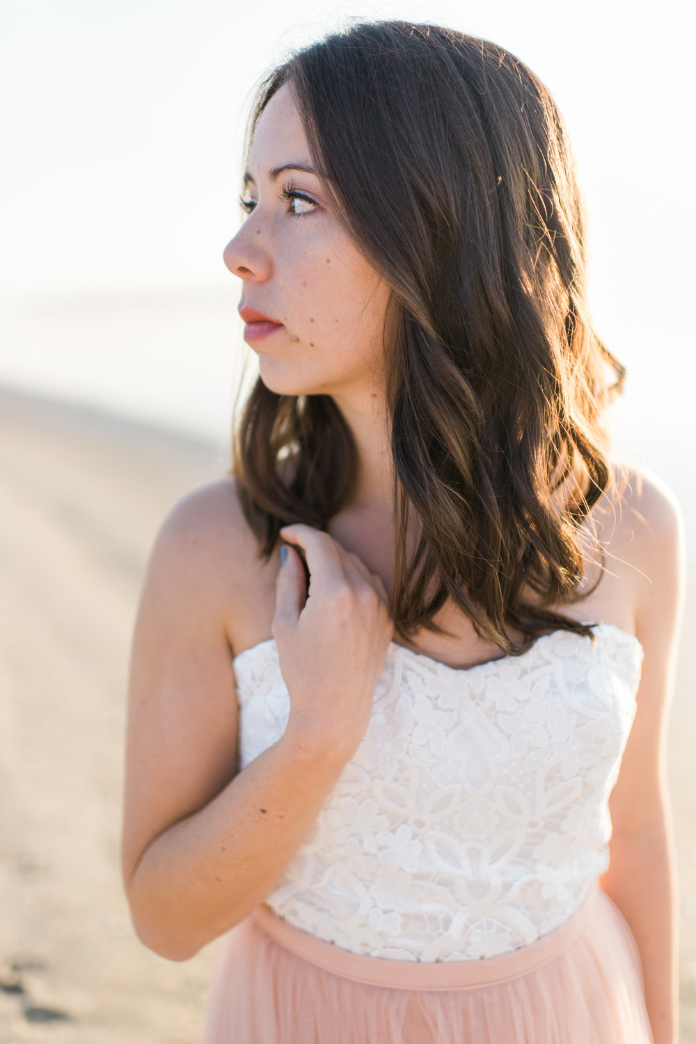 south carolina coast beach bridal shoot