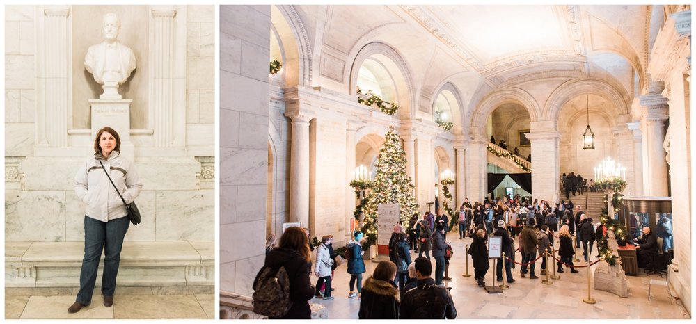 new york city public library christmas