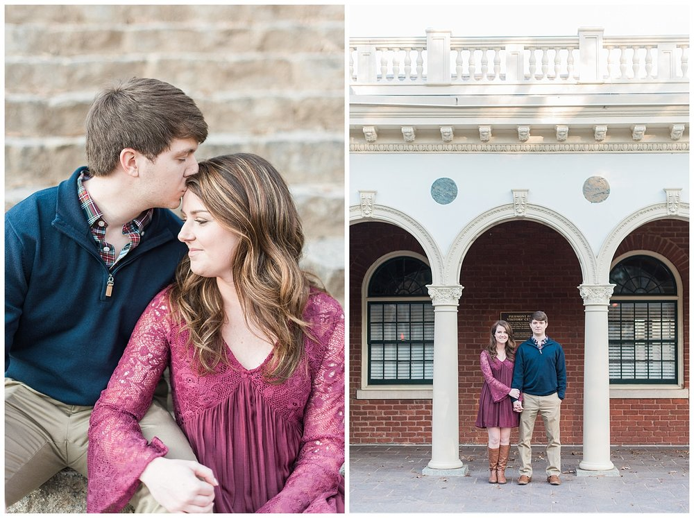 pidemont park engagement session