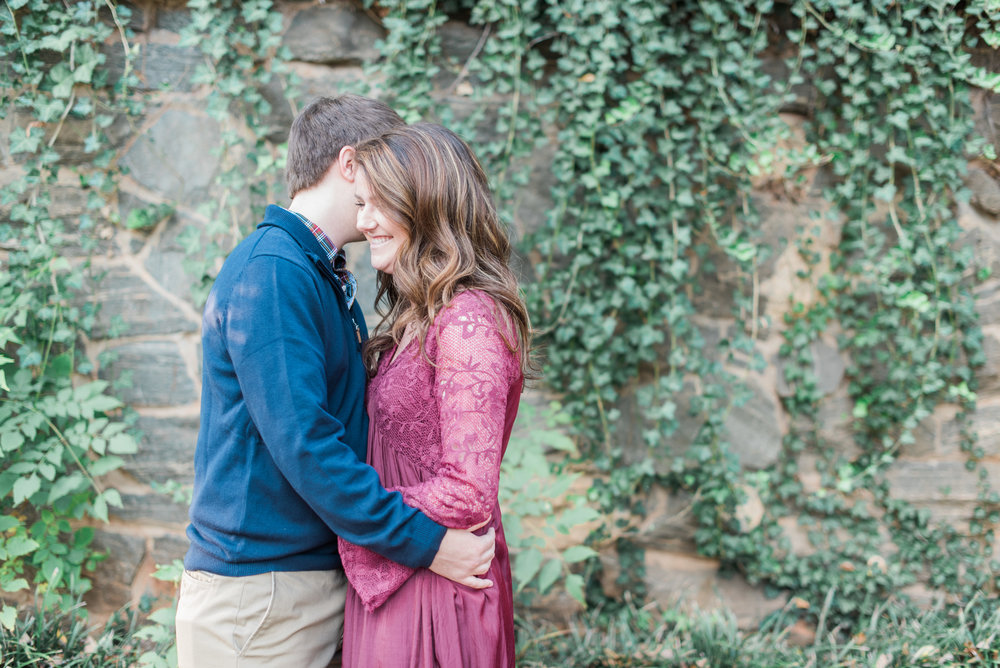 atlanta engagement session piedmont park