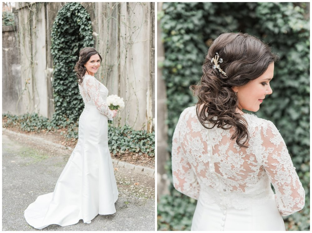 swan house bridal portrait atlanta