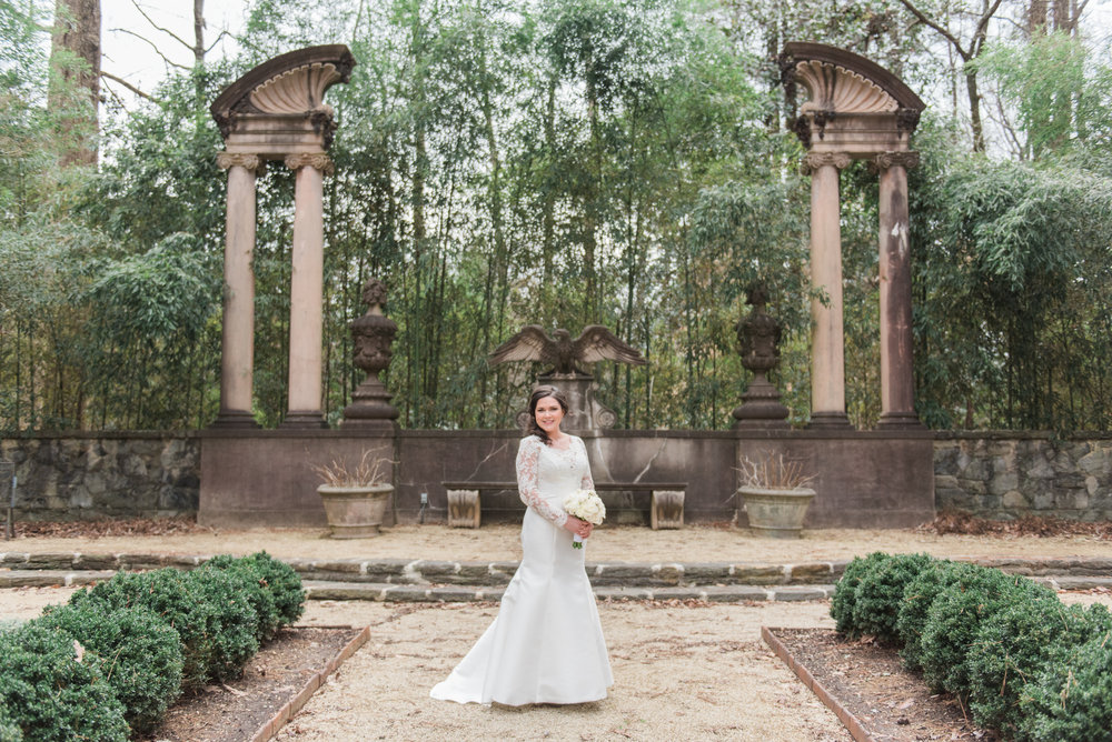 swan house wedding bridal atlanta
