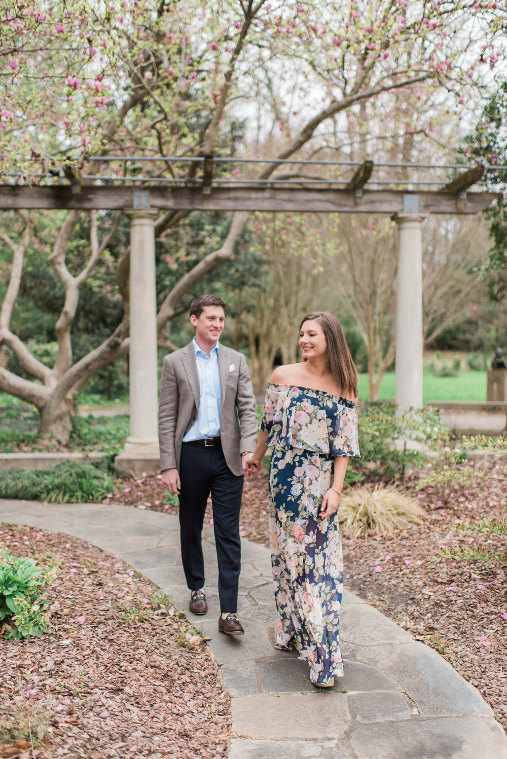 cator woolford gardens atlanta engagement session