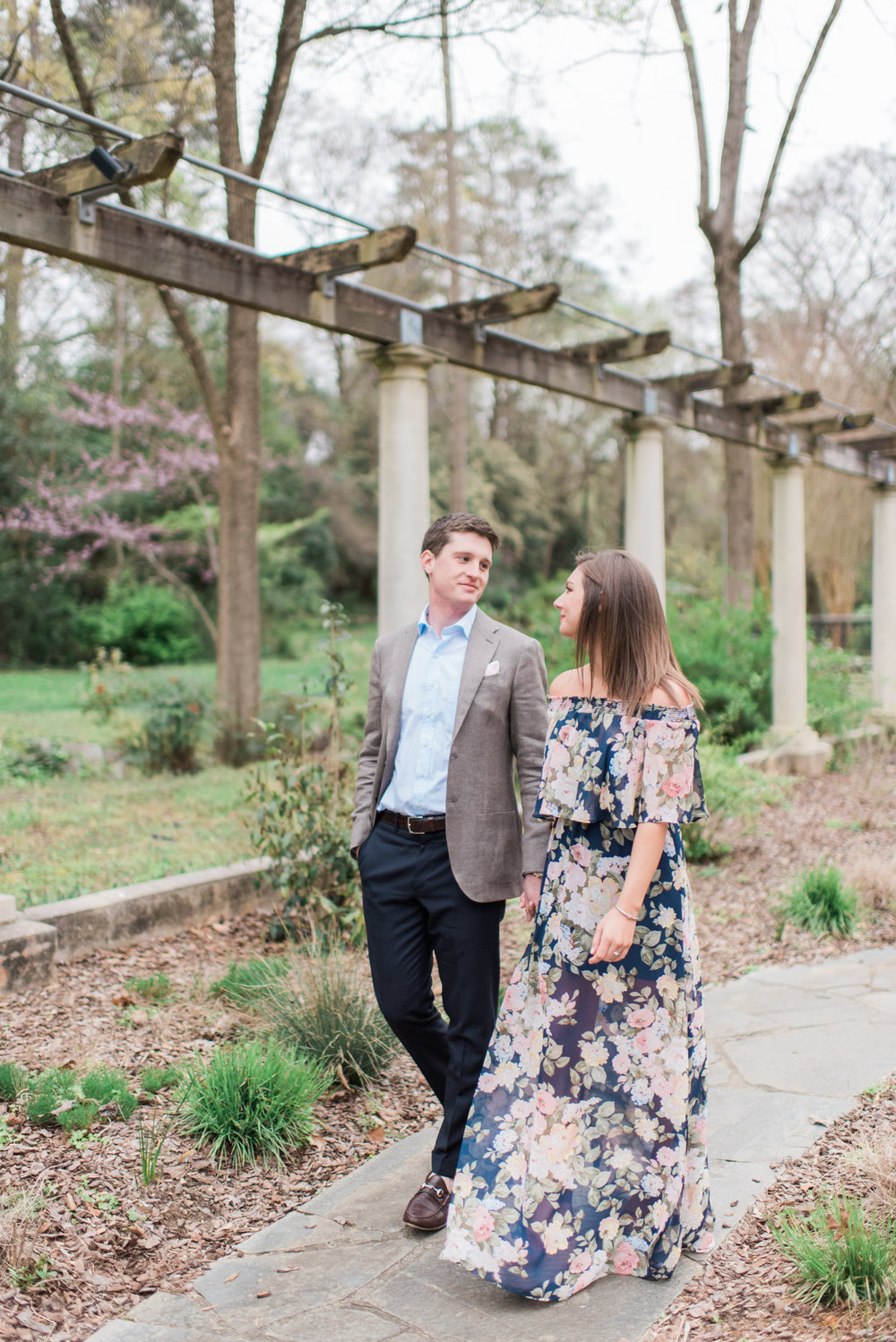 cator woolford garden atlanta engagement session