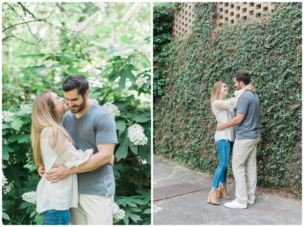winn park atlanta engagement session