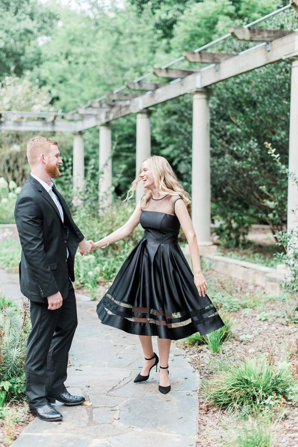 cator woolford gardens engagement photography
