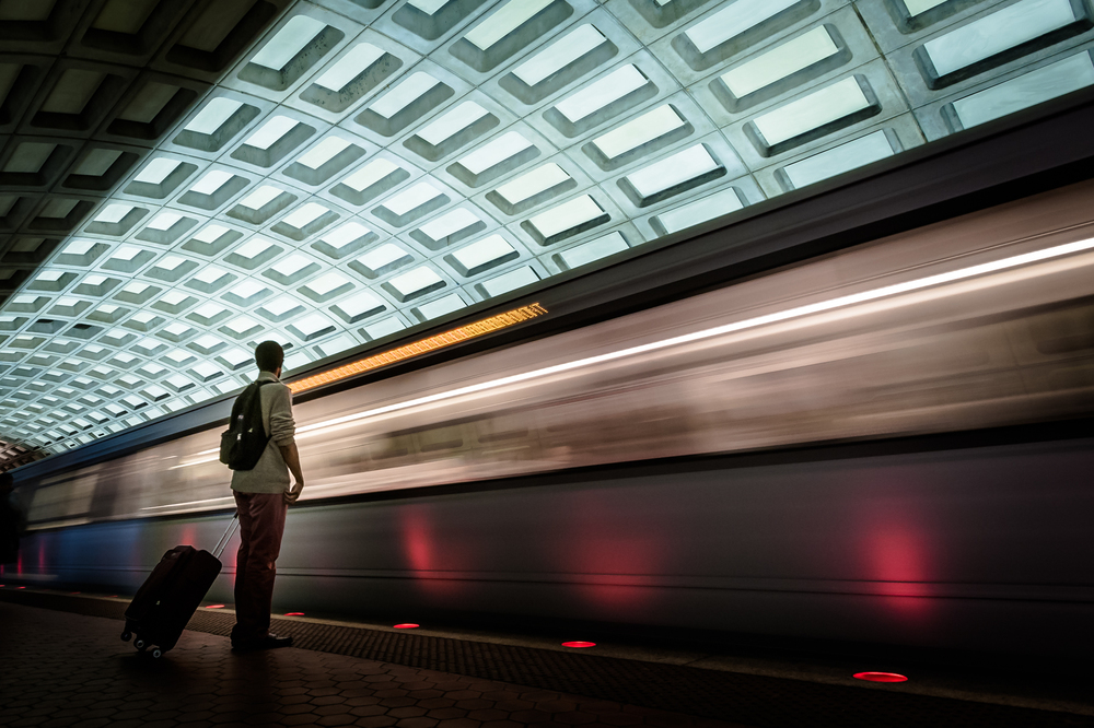 Metro at Dupont Circle  Washington, DC 2014