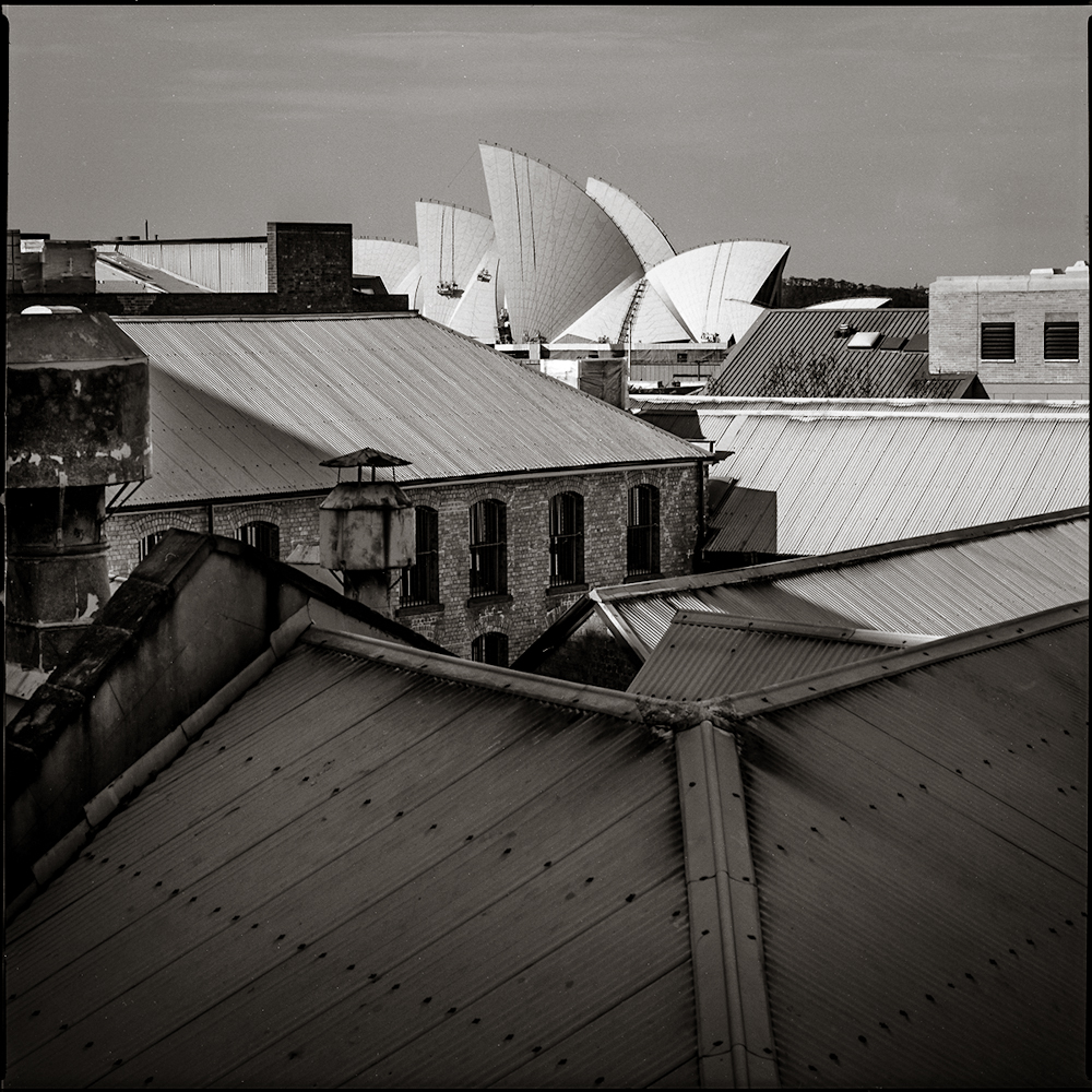 Rooflines from Sydney Harbor Bridge  Sydney, 1994