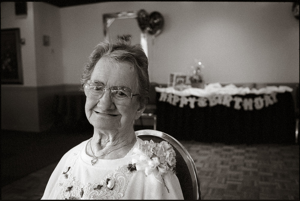 My grandmother, Ella Fruggiero, at 90  Berlin, NJ 2001