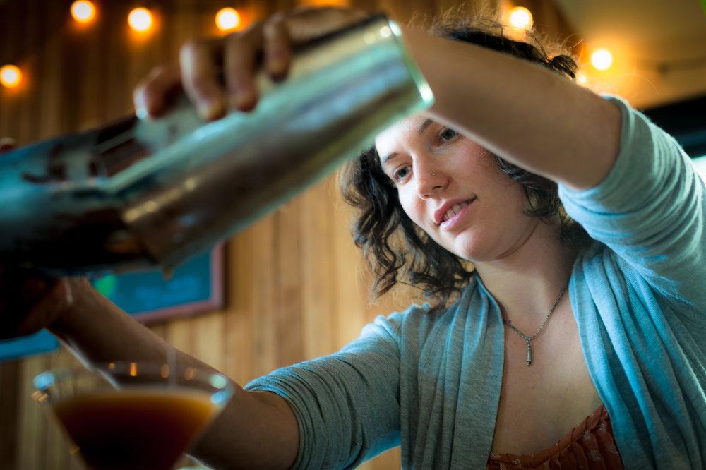Bartender, New Deal Distillery  Portland, OR 2014