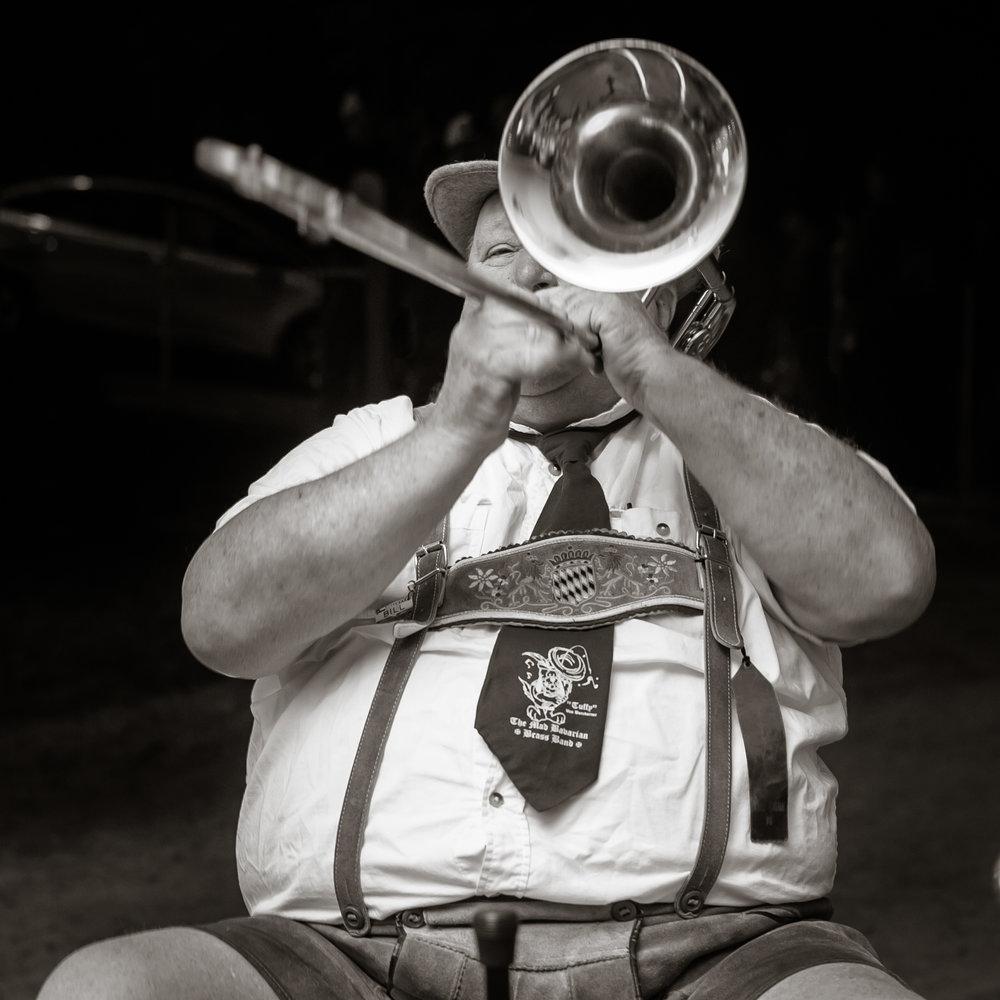 Oktoberfest, Mad Bavarian Brass Band  Littleton NH 2014