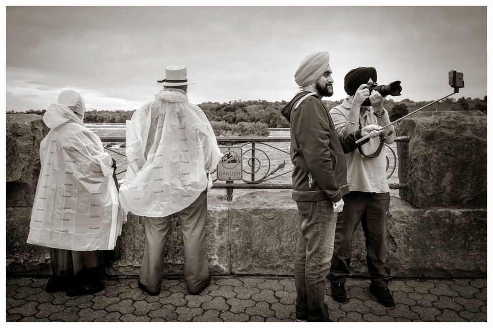 Amish and Sikhs   Niagra Falls, Ontario 2016