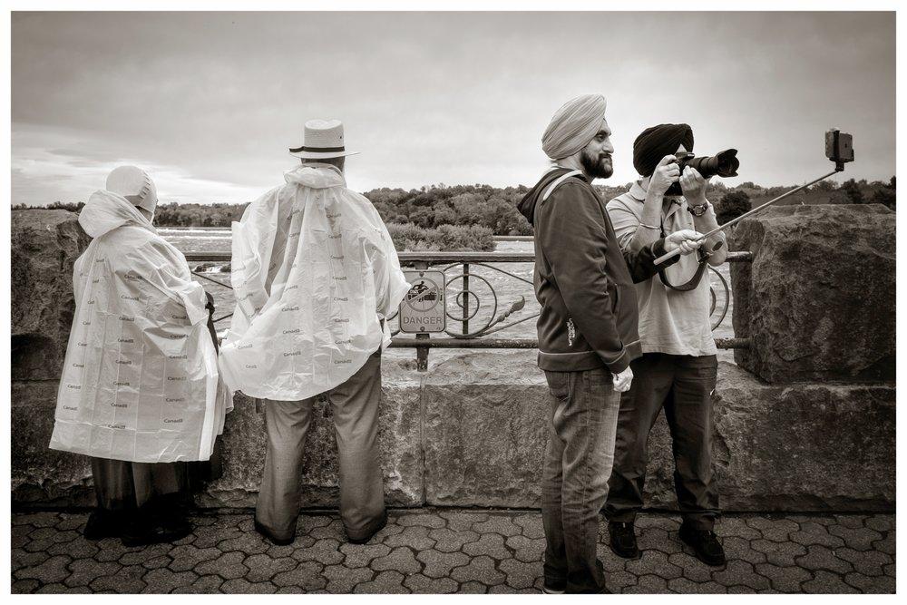 Amish and Sikhs   Niagra Falls, Ontario 2016