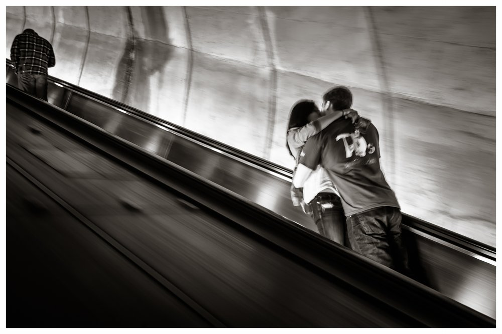 Metro Escalator   Washington, DC 2014